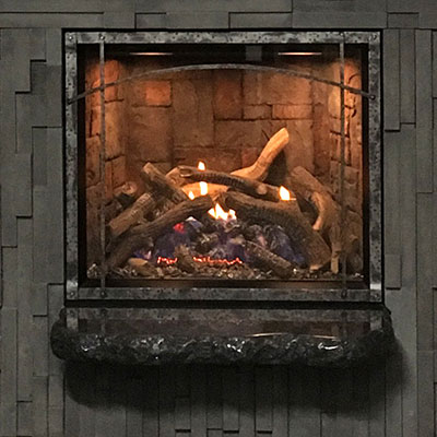 Fireplace savings