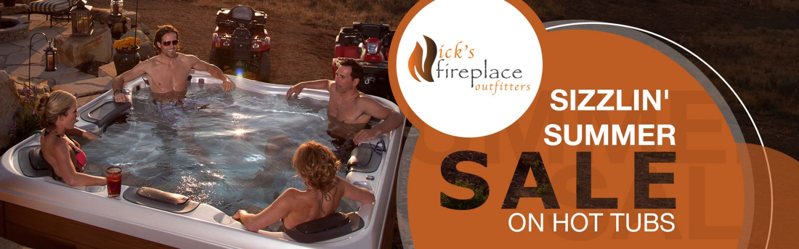 Sizzlin' Summer Sale on Hot Tubs
