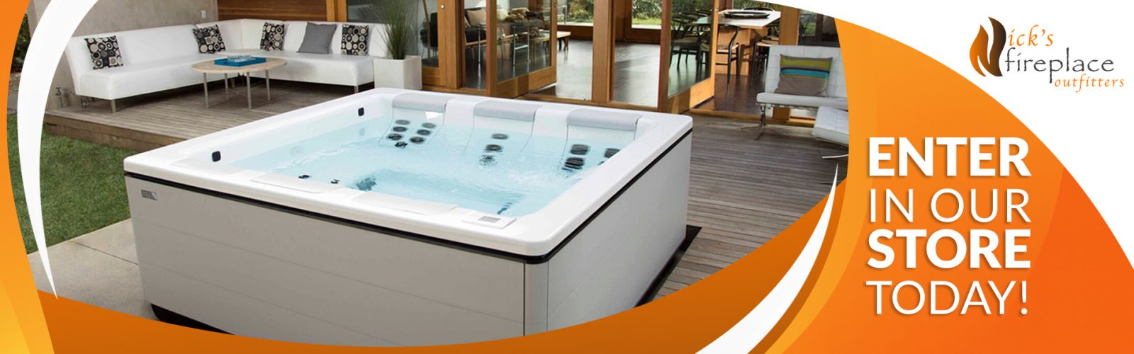 Win a Bullfrog Spa - Enter Our Store Today!